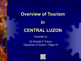 Central Luzon Overview - Department of Tourism