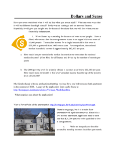 Personal Finance Unit - Dordt College Homepages