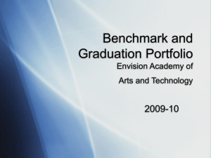The Graduation Portfolio Components