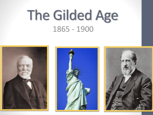 The Gilded Age Notes