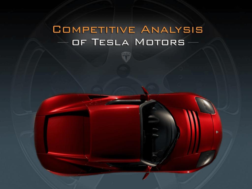 tesla motors case analysis