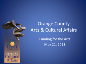 2013-05-21 Discussion Grants Arts and Cultural Affairs Advisory Board