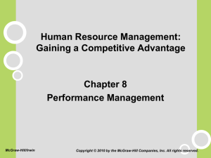 Chapter 8 - Department of Management and Information Systems