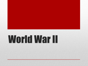 WWII PowerPoint History