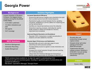 Georgia Power - Sparta Social Networks