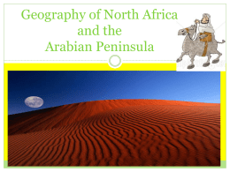 Geography of the Arabian Peninsula