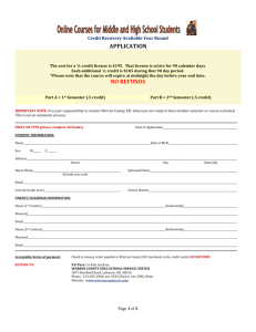 VLA Online Application - Warren County Educational Services Center