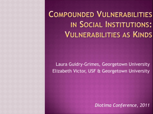 Compounded Vulnerabilities in Social - Laura Guidry