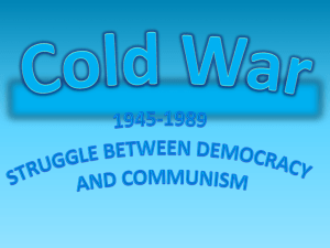 Cold War - Sansgaard