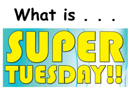 Super Tuesday PP