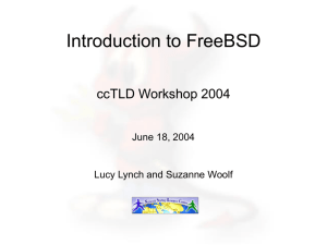 FREEBSD HANDBOOK The FreeBSD Documentation Project For