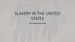 Slavery in the United States, 1840s and 1850s