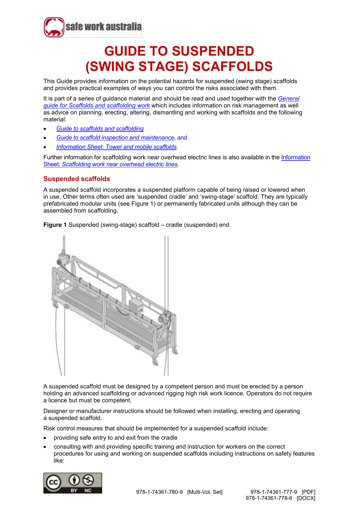 5 Guide To Suspended Swing Stage Scaffolds