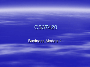 Business Models 1