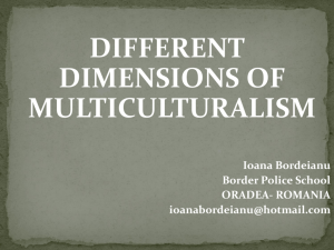 Different dimensions of multiculturalism