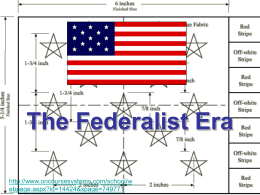 what were the achievements of the federalist era