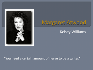 Margaret Atwood Poetry Power Point