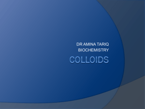 colloids - MBBS Students Club