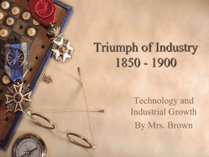 Industrialization and Labor