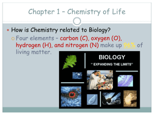 Chapter 1 – HONORS