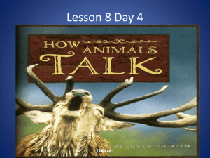 Lesson 8 Day 4 - North Allegheny School District