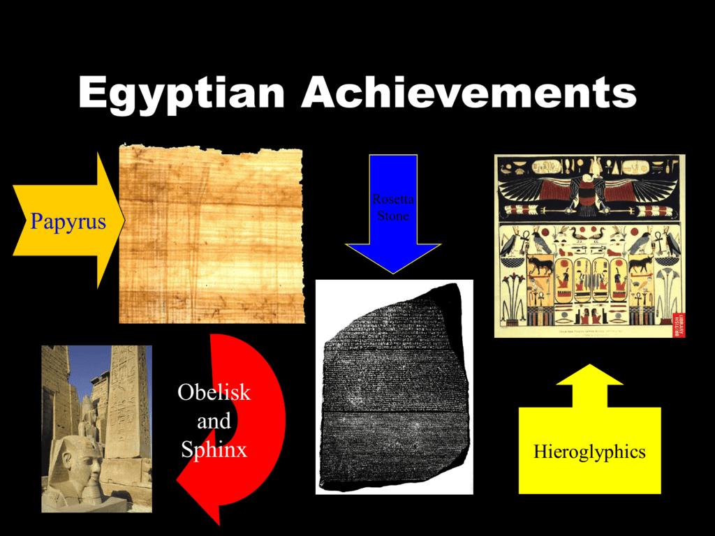Egyptian Achievements
