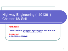 Highway Materials-Soils - Icivil-Hu