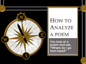 How to Analyze a Poem