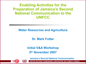 Integrated Assessment of Impacts on Water Resources and the