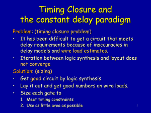 Timing Closure