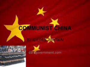communist china - whshroderDeJah