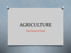 Agriculture Part 1