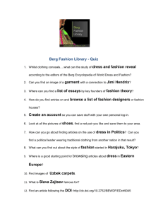 Quiz - Berg Fashion Library