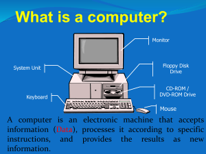 The First Generation of Computers