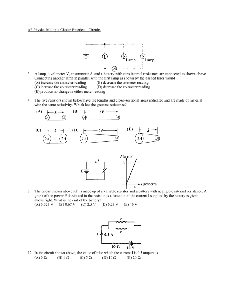 Circuits Mc Practice Problems Battery Wiring Diagram V3