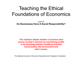 corporate social responsibility versus profit maximization Perhaps corporate social responsibility is now an old-fashioned idea that has been lost in the modern march toward globalization and the illusory power of markets to solve all our problems, but.