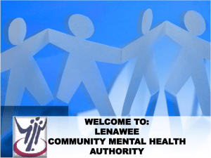 monitor2012-10-02 - Lenawee Community Mental Health