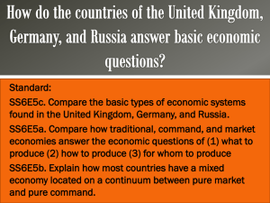 Economic Systems of Europe PPT