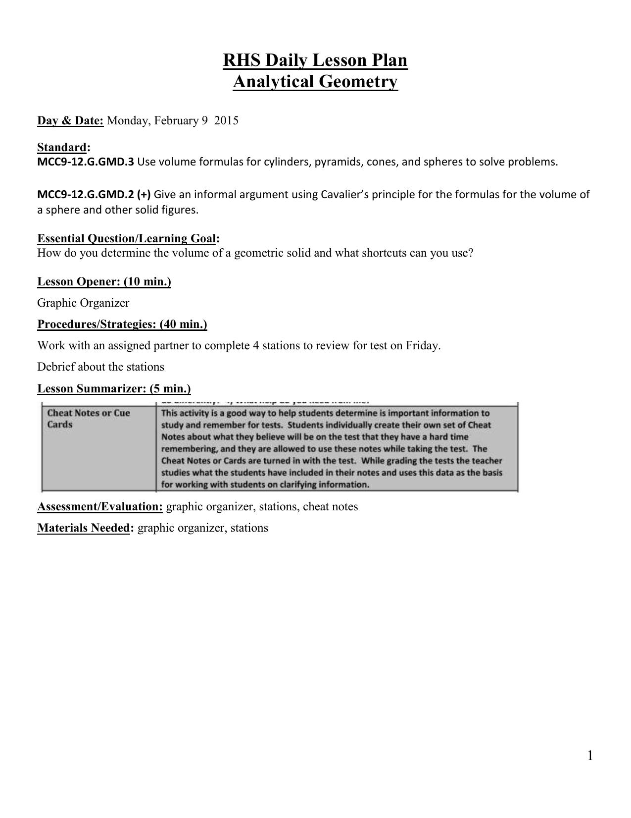 Rhs Daily Lesson Plan Analytical Geometry Venn Diagram For Smartboard 009524905 1 605e7c3a949545aceca5644b8ae79314