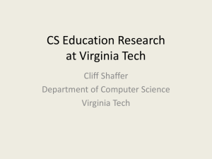 Experiences with CS Education Research - People