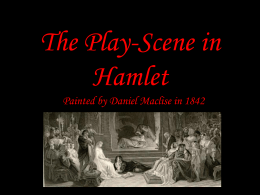 The Play-Scene in Hamlet