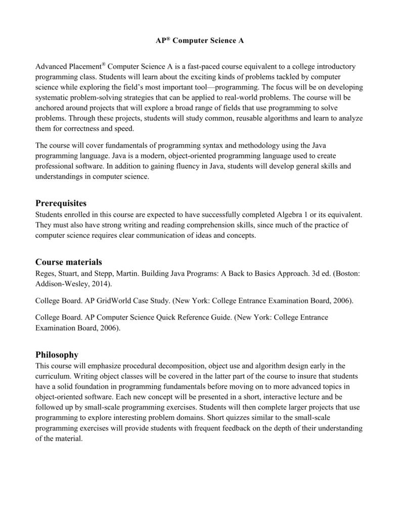 GridWorld - APCS Mentor Project