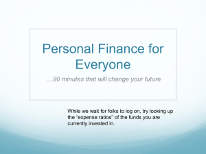 Personal Finance for Every Coastie