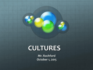 cultures - Demarest School