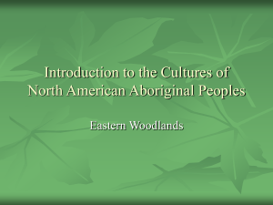 Introduction to the Cultures of North American Aboriginal Peoples