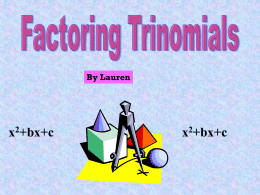 """Factoring trinomials game moreover factor table   Kasare annafora co furthermore Factoring X2 Bx C Worksheet Answers   Unboy org as well Factoring Trinomials Using the """"AC"""" Method also factoring x2 bx c worksheet answers Inspiration of factoring besides  further factoring trinomials ax2 bx c worksheet answers likewise Vertex and Intercepts Parabola Problems additionally Worksheets Factoring Trinomials Of The Form Ax2 Bx C Worksheet in addition Factoring X2 Bx C Worksheet Answers   Lobo Black moreover Raptor Flow chart for Addition of Two numbers  395958700036 further Factoring Polynomials also Kuta Alge 2 Worksheets The best worksheets image collection in addition factoring x2 bx c worksheet answers Concept of factoring trinomials as well Toni McDowell   Alge 1  Homework Check additionally Factoring x2 bx c worksheet  1138148   Worksheets liry. on factoring x2 bx c worksheet"""