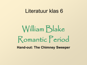 Romantic poetry: William Blake