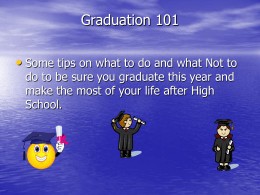 Graduation 101 - John A. Ferguson Senior High School