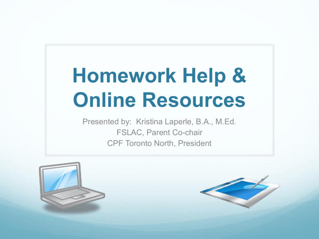Tdsb homework help