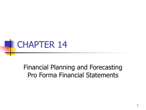Financial Planning, PowerPoint Show
